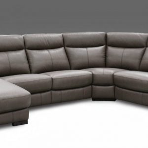 Gavin Leather Electric Recliner LHS Corner Group