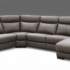 Gavin Leather Electric Recliner RHS Corner Group