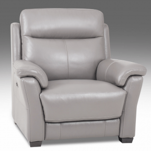 Gascoyne Electric Recliner Chair Natural Leather