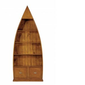 Irish Coast 4 Shelf Dinghy Bookcase