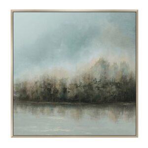 Lakeside 101.6X101.6cm, Multi Print