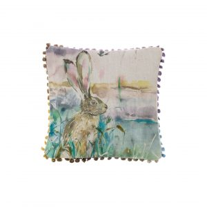 Morning Hare Arthouse Cushion 35x35cm