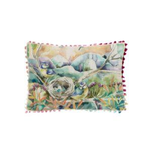 Nesting Arthouse Cushion 35x25cm