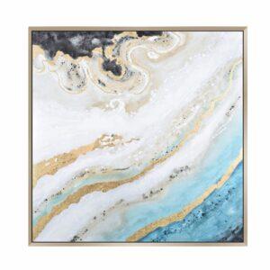Neptune 106.7×106.7×3.8cm, Multi Print