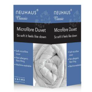 Neuhaus Fine as Down Microfibre 13.5 Tog Duvet