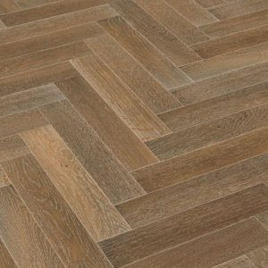 Lignum Strata 14mm - Oak Smoked, Limed & Brushed Herringbone 90 1.62m² Left Hand Pack