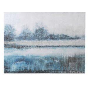 Riverside Oil Painting