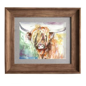 Bruce Oak Frame 33.6x38.6cm