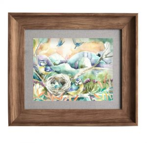 Nesting Oak Frame 33.6x38.6cm