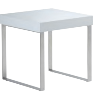 Franklyn End Table High Gloss White