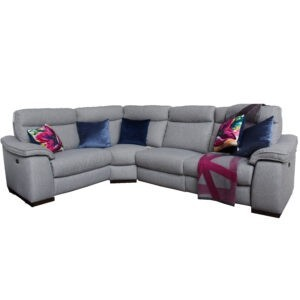 Gavin Fabric Recliner Corner Sofa