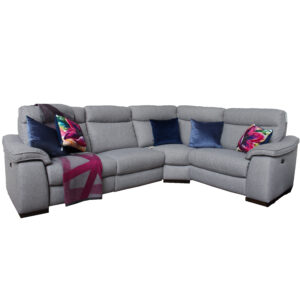 Gavin Fabric Recliner Corner Sofa