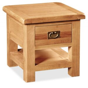 Salisbury Lamp Table With Drawer