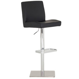 Mya Bar Stool Black PU