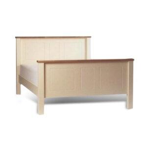 Benedict Zen White Bed