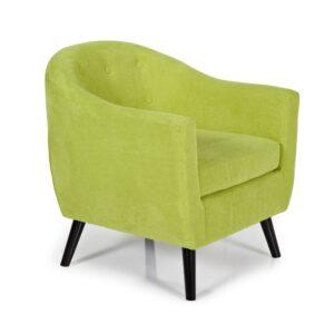 Evie Green Tub Chair