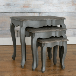 Harmony Nest of Tables Dark Grey
