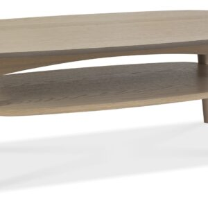 Dansk Scandi Oak Coffee Table With Shelf
