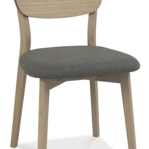 Dansk Scandi Oak Veneer Back Chair
