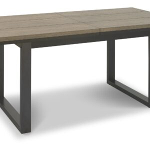 Tivoli Weathered Oak 6-8ft Ext. Dining Table
