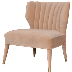 Claridge Armchair Velvet Beige