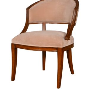 Claridge Dining Chair Velvet Beige