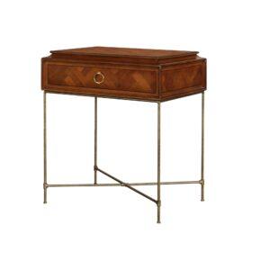 Claridge Lamp Table – Cherry
