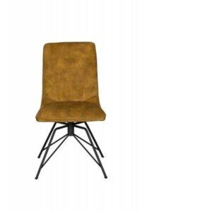Lola Dining Chair Gold Velvet